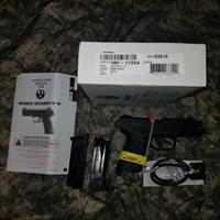 Ruger Security 9 w/ Hogue Grip Sleeve