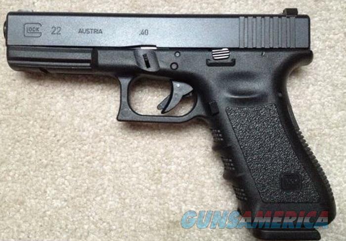 Glock 22 Gen 3 4 49 Barrel 40 Cal Mfg P For Sale