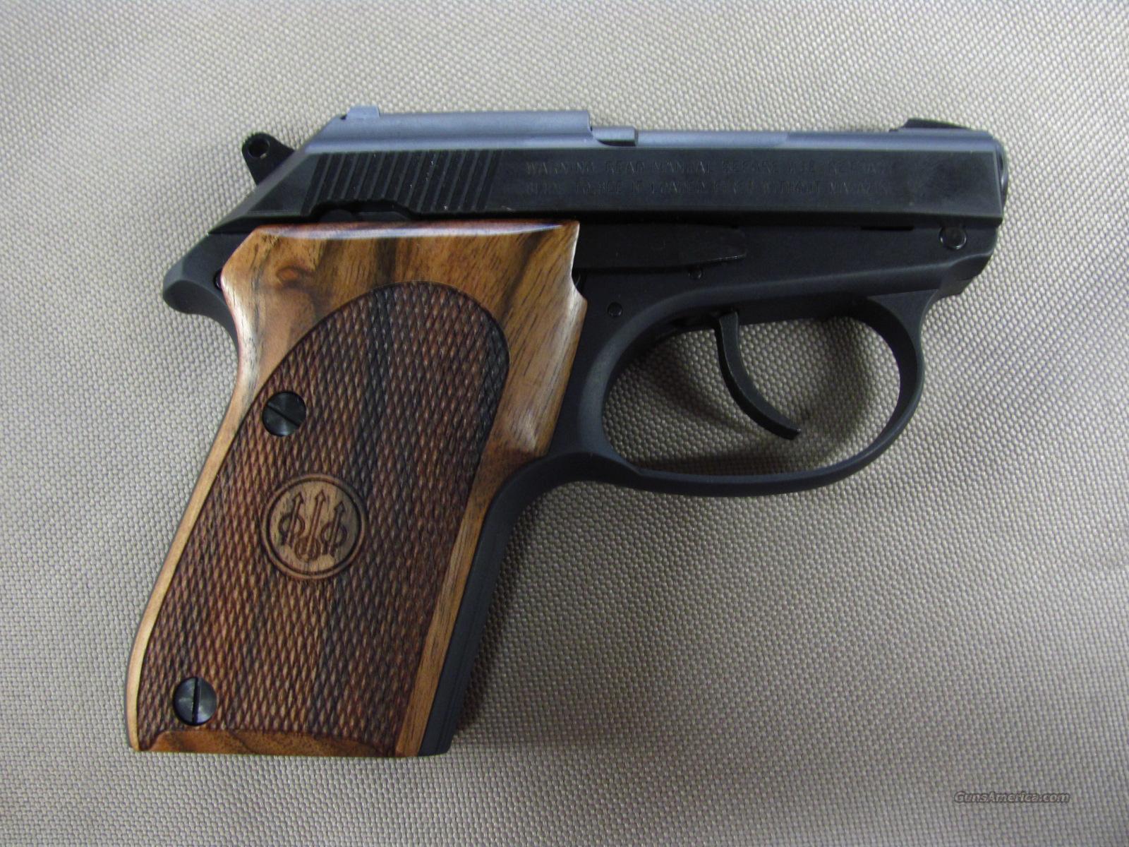 beretta 3032 tomcat che chen wood grips 32 acp for sale