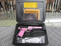 Browning Buck Mark UFX Pink Buckthorn SHOT Show Special  **NEW**