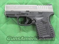 Springfield XDS Subcompact 9 mm Bi-Tone XDS9339S  **NEW**