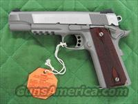 Colt 1911 Government Stainless Rail Gun 45 acp  **NEW**