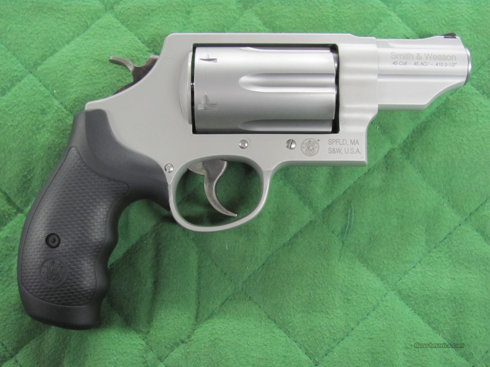 Smith & Wesson Governor Stainless 45 Colt / 45 ... for sale