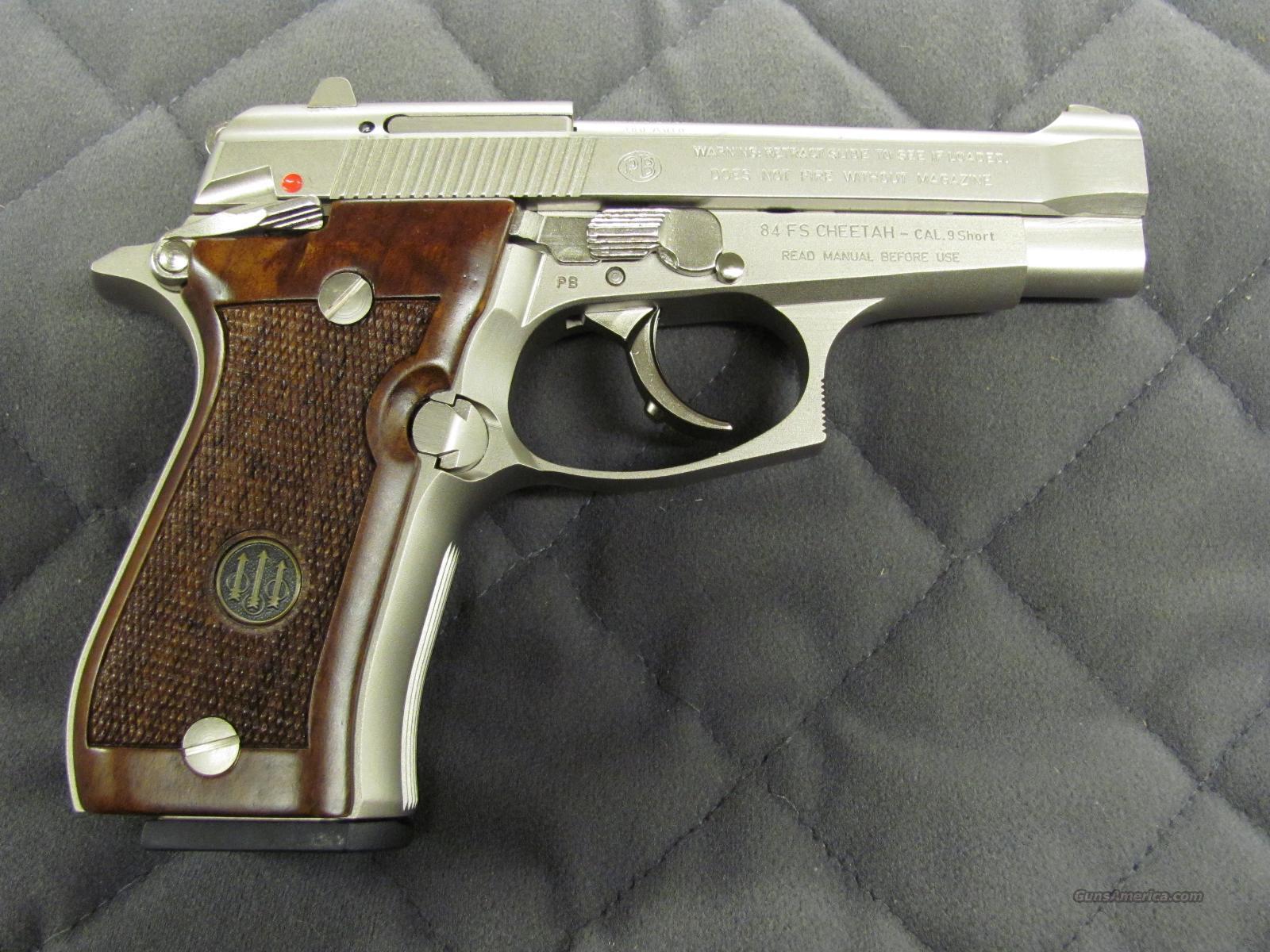 Beretta 84FS Cheetah 380 Auto Nickel J84F212 *... for sale
