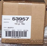 CCI .40 S&W 155 Grain Lawman TMJ 1000 Rounds