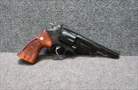"Mint Smith and Wesson 29-3 6"" barrel Dirty Harry .44 Magnum With Wood Case"