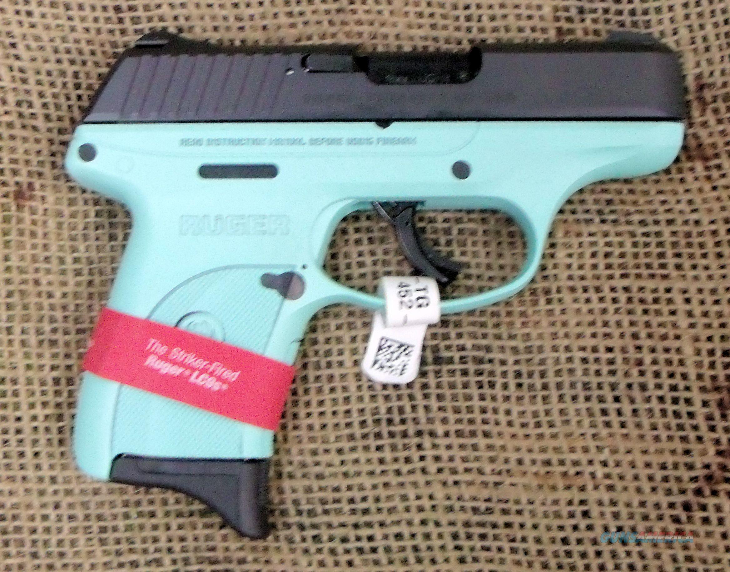 Ruger Lc9 Pistol Teal Green 9mm Cal
