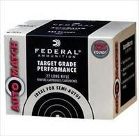1300 rds Federal Ammunition Auto Match 40 Grain .22LR Ammo