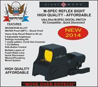 AR 10 15 REFLEX RED DOT SIGHT RIFLE M-SPEC