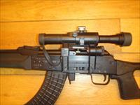 Russian Snipe Izhmash AK-47 Rifle with Inferred Russian Scope