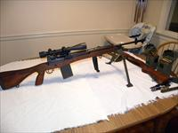 Vietnam USGI sniper rifle M14 w/M-118NM  AR-TEL 3X9 sniper scope, US RIFEL M2 bipod , much more. Demilled