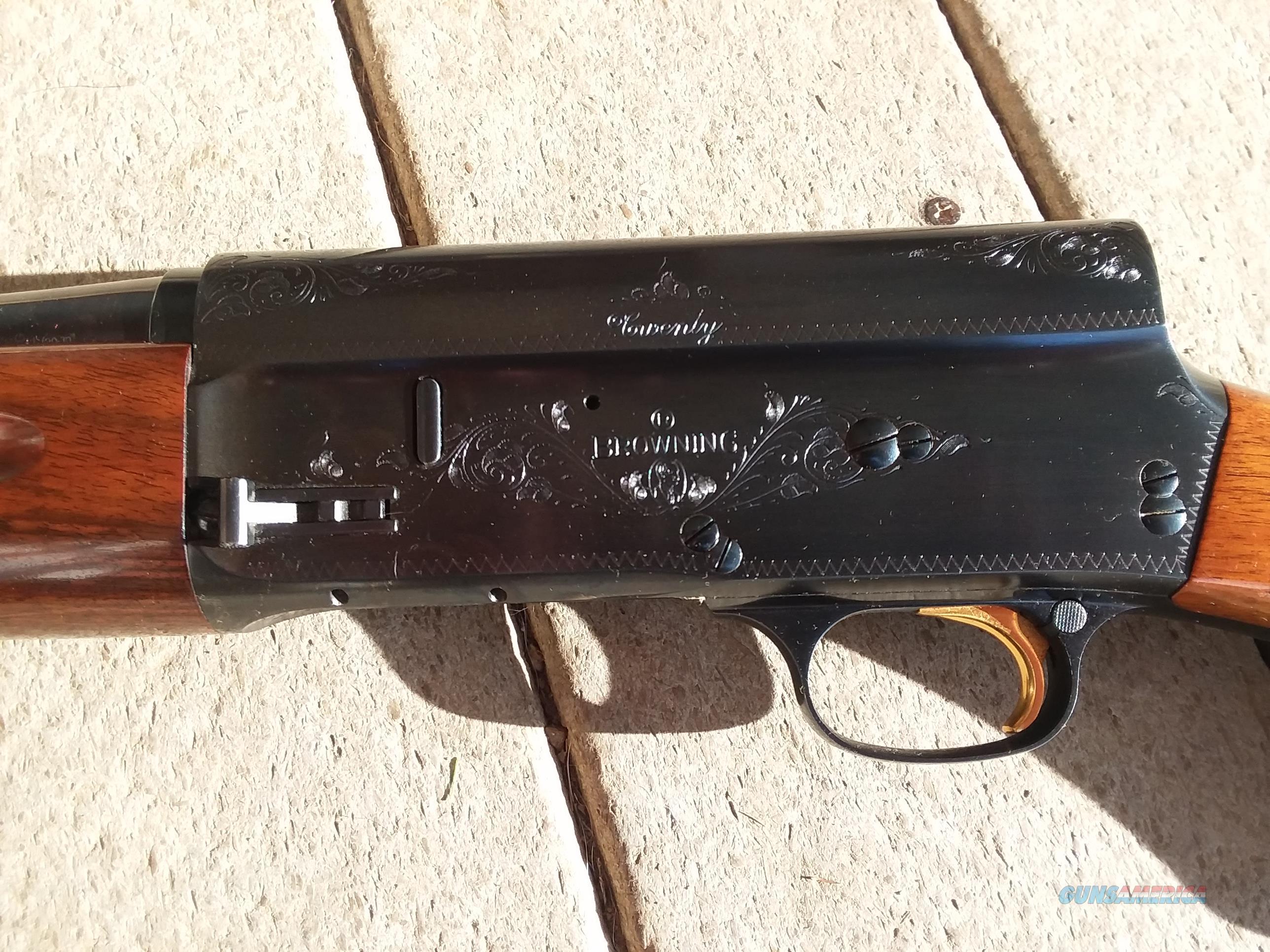 113aa44fcc8a6 1968 Belgium Browning A5 Lightweight 20 Gauge, MAKE OFFER Guns > Shotguns >  Browning Shotguns