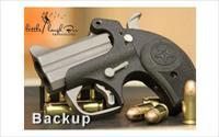 "BOND BACKUP W/TG 45ACP 2.5"" PC BLK"