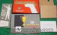 Colt Gold Cup National Match PRE-70 Series Box & Paperwork 100% Vintage Original