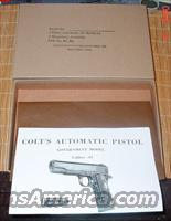 Colt WWII 1911A1 Kraft Shipping & Storage Box