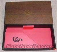 Colt Diamondback 2 Piece Box & PW 1960
