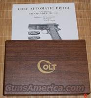 Colt Gov. Model Super 38 1965-72 Box & Manual