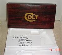 Colt Python Diamondback Trooper Box 4-6 inch Box  1977-73