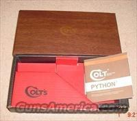Colt Python or Diamondback or Single Action 1950's to late 1960's boxes