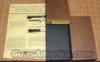 Colt .22 LR Conversion Kit Box & PW Gov & Super 38