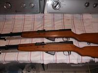 2 yogoslaivan sks rifles, sequentially numbered