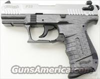Walther P22 Anthracite Brushed Chrome 22 LR  NEW!     WAP22012