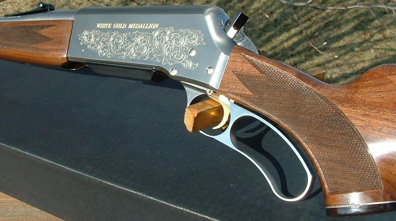 Ltd Edition Browning Blr White Gold Medallion 3 For Sale