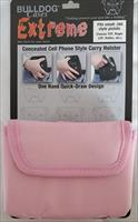 Bulldog Extreme Cell Phone HOLSTER Case Pink 380 ACP  New!   BD-844