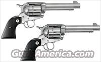 Ruger VAQUERO SASS COWBOY MATCHED SET Polished Stainless  45 Colt   New!    LAYAWAY OPTION   5134