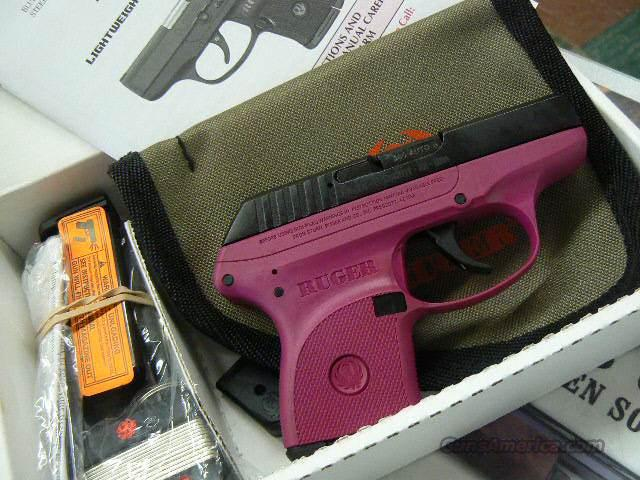 Limited Edition Ruger Lcp Rasberry 380 Acp New For Sale