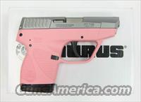 Taurus 738 TCP PINK Stainless  380 ACP  NEW!      1738039P