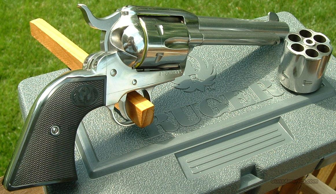 Ltd Edition Ruger New Vaquero Stainless Convertible 5 45 Lc Acp