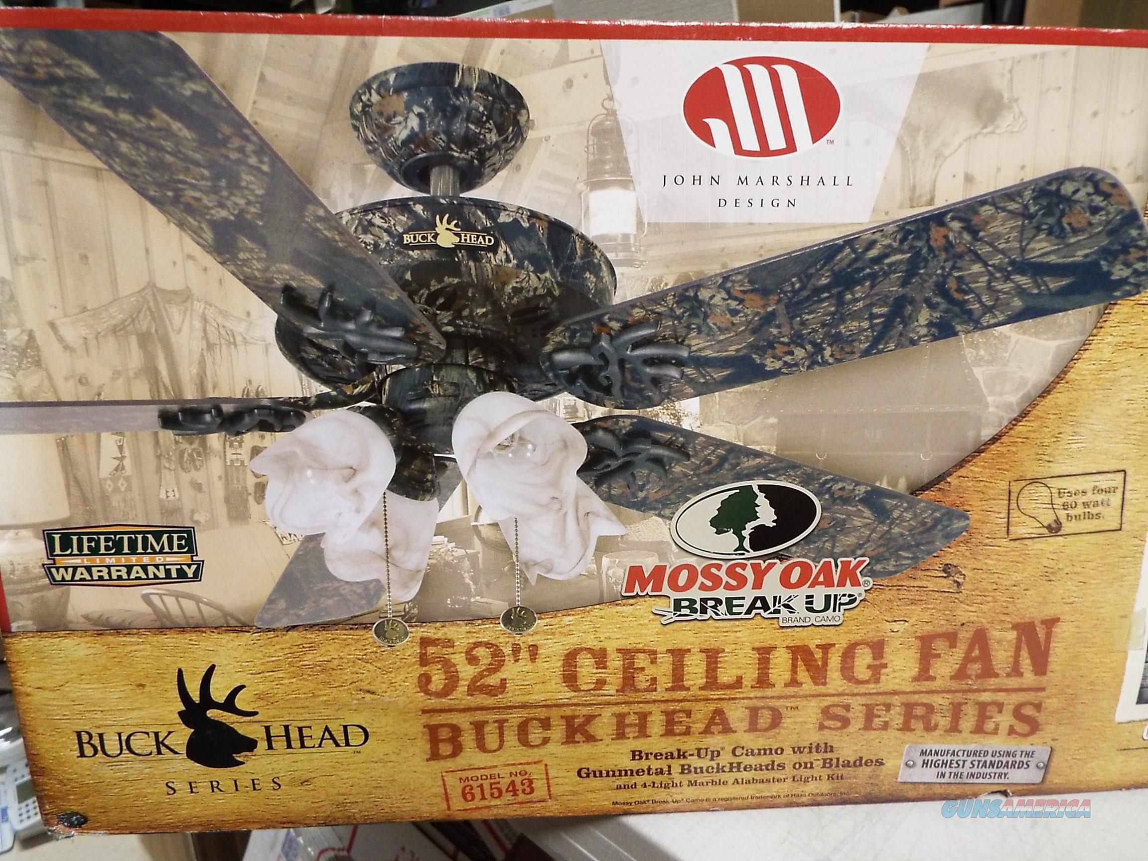 Mossy oak buckhead ceiling fan mobu camo w lig for sale 11202644g aloadofball Gallery