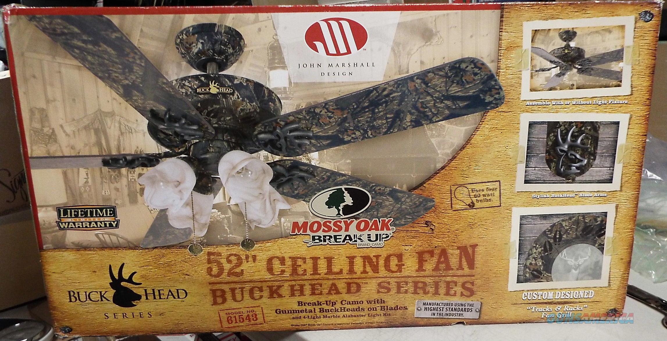 Mossy oak buckhead ceiling fan mobu camo w lig for sale 11202645g aloadofball Image collections