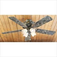 Mossy Oak Buckhead Ceiling Fan MOBU Camo w/ Light  New!  LAYAWAY OPTION   61543