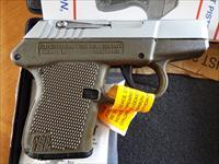 Kel-Tec P-3AT Hard CHROME & Green     380 ACP   New!     LAYAWAY OPTION      P3AT