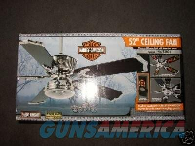 Harley Davidson Ceiling Fan With Remote Chrom For Sale