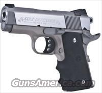 Colt Defender 1911 Stainless Lightweight    9mm    New!    LAYAWAY OPTION    O7002D