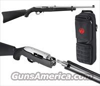 Ruger 10/22 TAKEDOWN Stainless + Backpack    22 LR     New!    LAYAWAY OPTION    11100