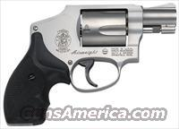 S&W Smith & Wesson 642 Airweight Stainless Hammerless     38 Spl. +P     New!    LAYAWAY OPTION    163810