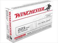 SALE REDUCED Winchester USA Ammunition 223 Remington 55 Grain Full Metal Jacket  100-rds  NEW!      FMJ     USA223R1