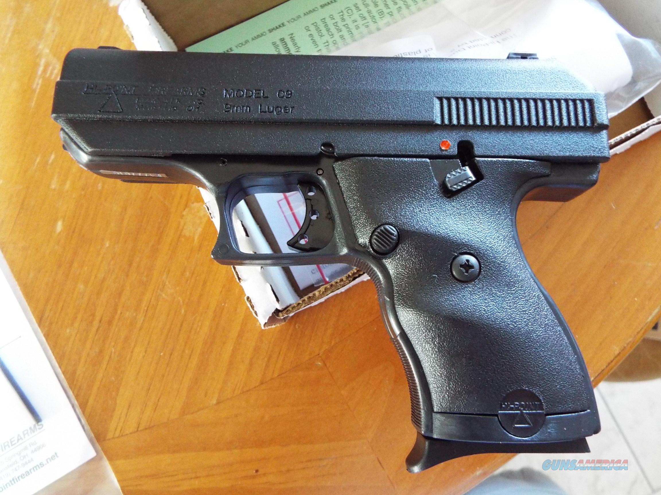 Hi-Point C9 Compact pistol 9mm New! LAYAWAY OPTION C-9