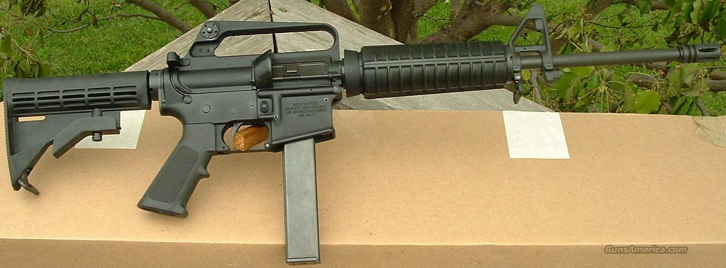 Colt AR15 Tactical Carbine LEO MARKED 9mm AR6450 New! 6450 LAYAWAY OPTION