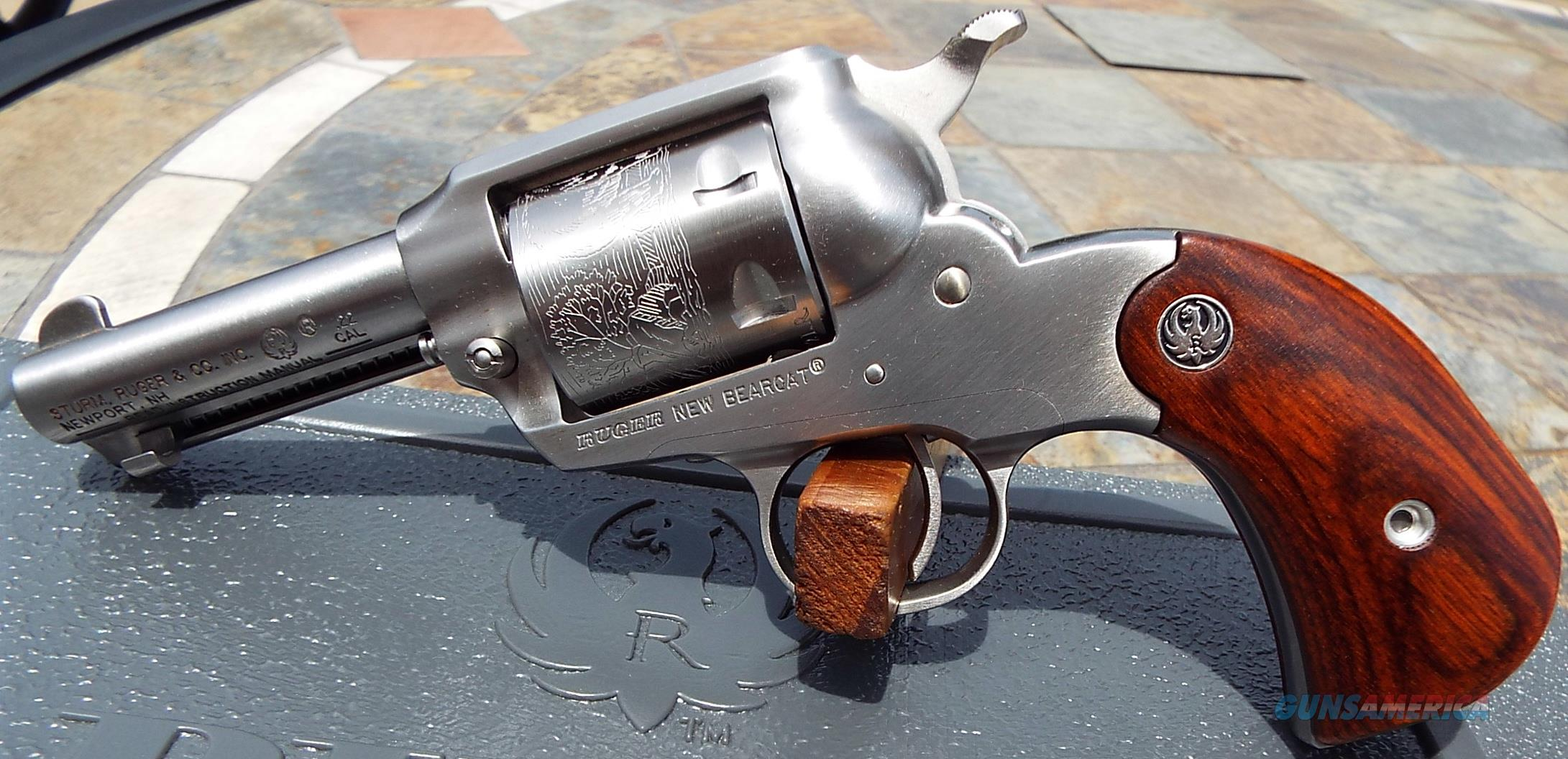 Ltd Edition Ruger Bearcat Keeper Stainless Birdshead Grips 22 Lr New Layaway Option 00915