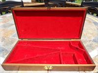 Colt Navy Pistol Presentation Case - walnut