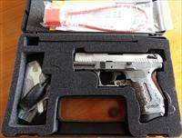 Ltd. Edition Walther P22 Brushed CHROME Threaded Bbl. 22 LR  New!  LAYAWAY OPTION  WAN22012
