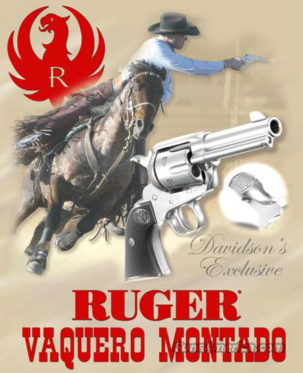 Ltd Edition Ruger Vaquero Montado 3 75 Stainless 357 Mag 38 Spl New