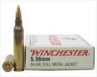 SALE REDUCED  Winchester 5.56 NATO / 223 FMJ Target 100-rds 556  NEW!     Q3131