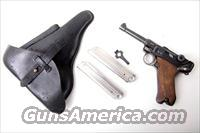 1932 SIMSON/SUHL GERMAN LUGER RIG W/ MATCHING MAGAZINE