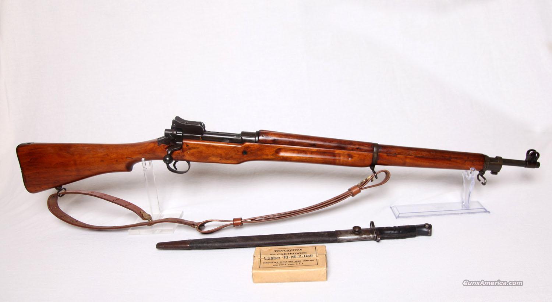 US Model 1917 bayonet with scabbard, Remington, 1917
